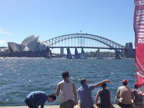 Sydney Extreme Sailing Race – 2014